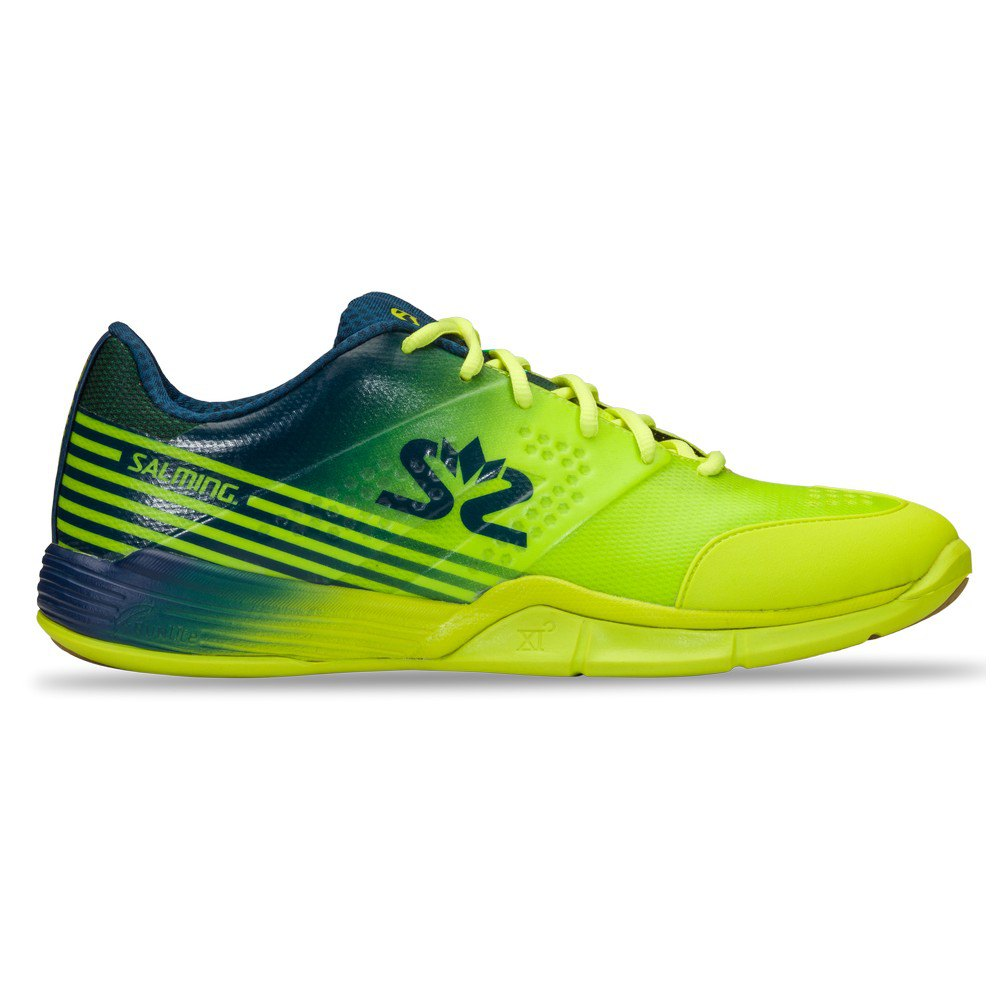 Salming Chaussures Viper 5 EU 42 Fluo Green / Navy