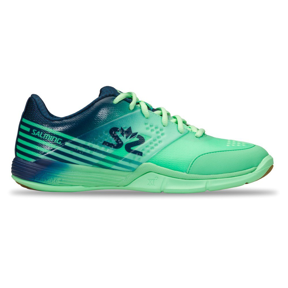 Salming Chaussures Viper 5 EU 36 2/3 Turquoise / Navy