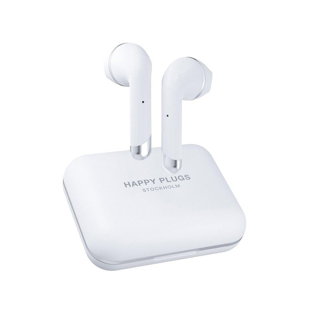 Happy Plugs Air 1 Plus Earbud True Wireless One Size White