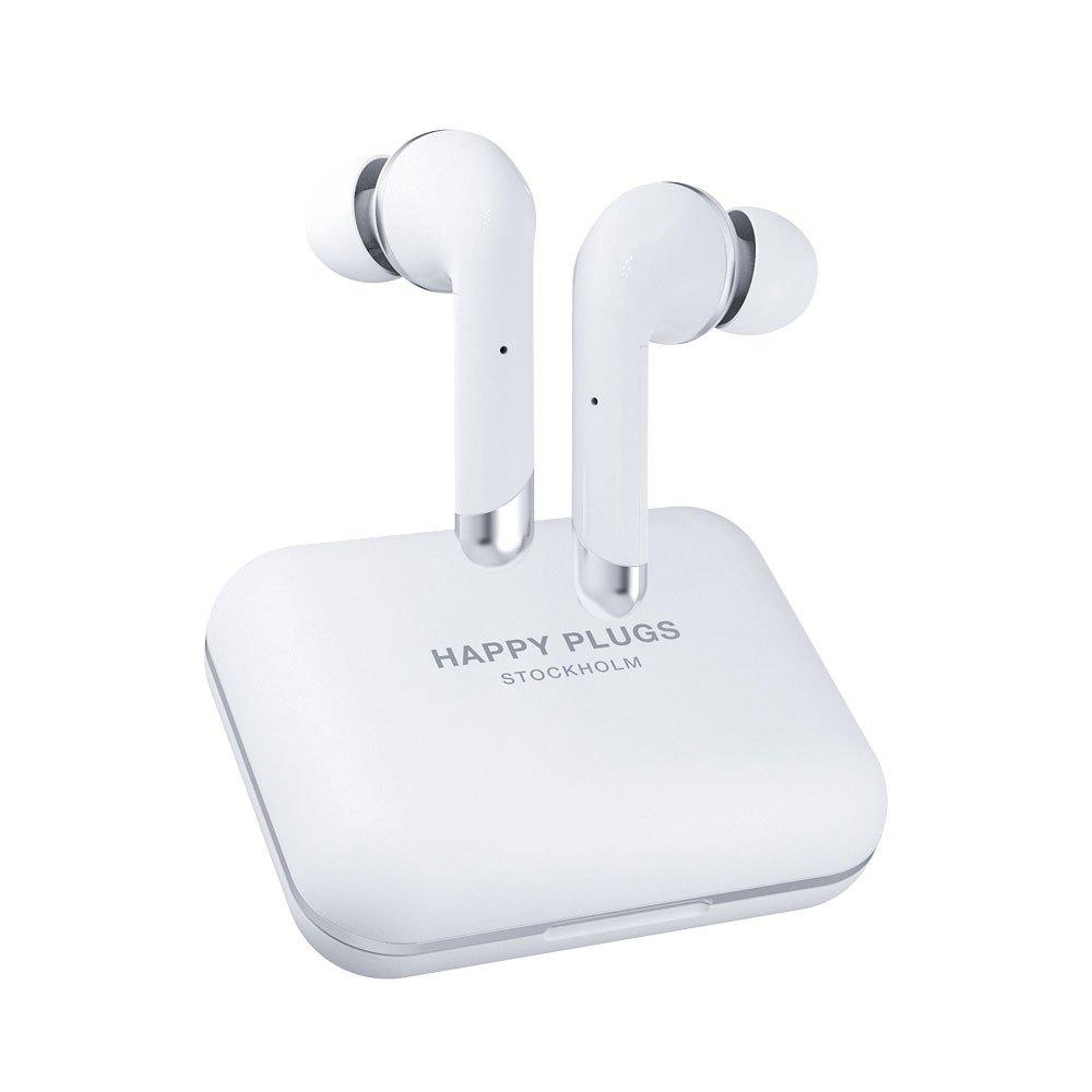 Happy Plugs Air 1 Plus In Ear True Wireless One Size White