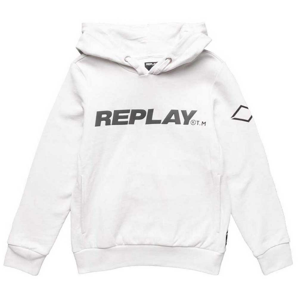 Replay Sb2438.050 Sweatshirt 6 Years Ice