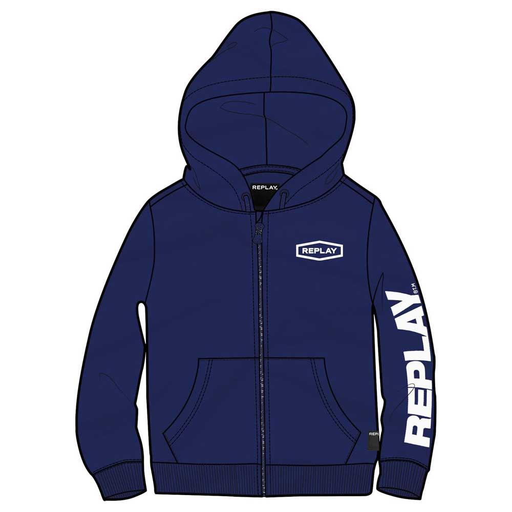 Replay Sb2440.051 Sweatshirt 16 Years Electric Blue