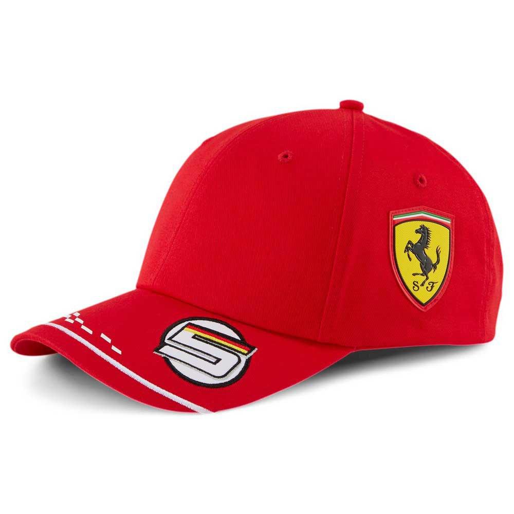 Puma Sf Ferrari Replica Vettel Bb One Size Rosso Corsa