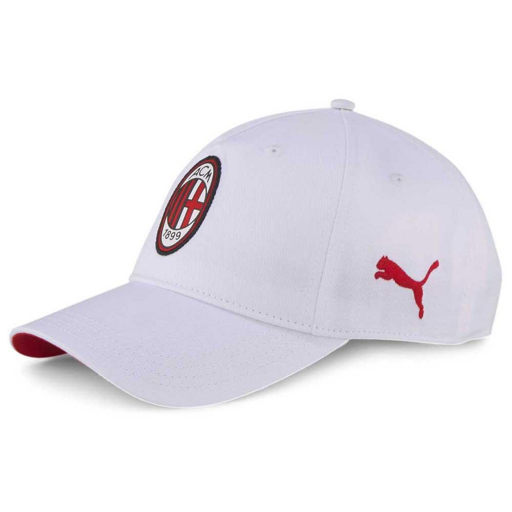 Puma Casquette Ac Milan Team 2.0 One Size Puma White / Tango Red