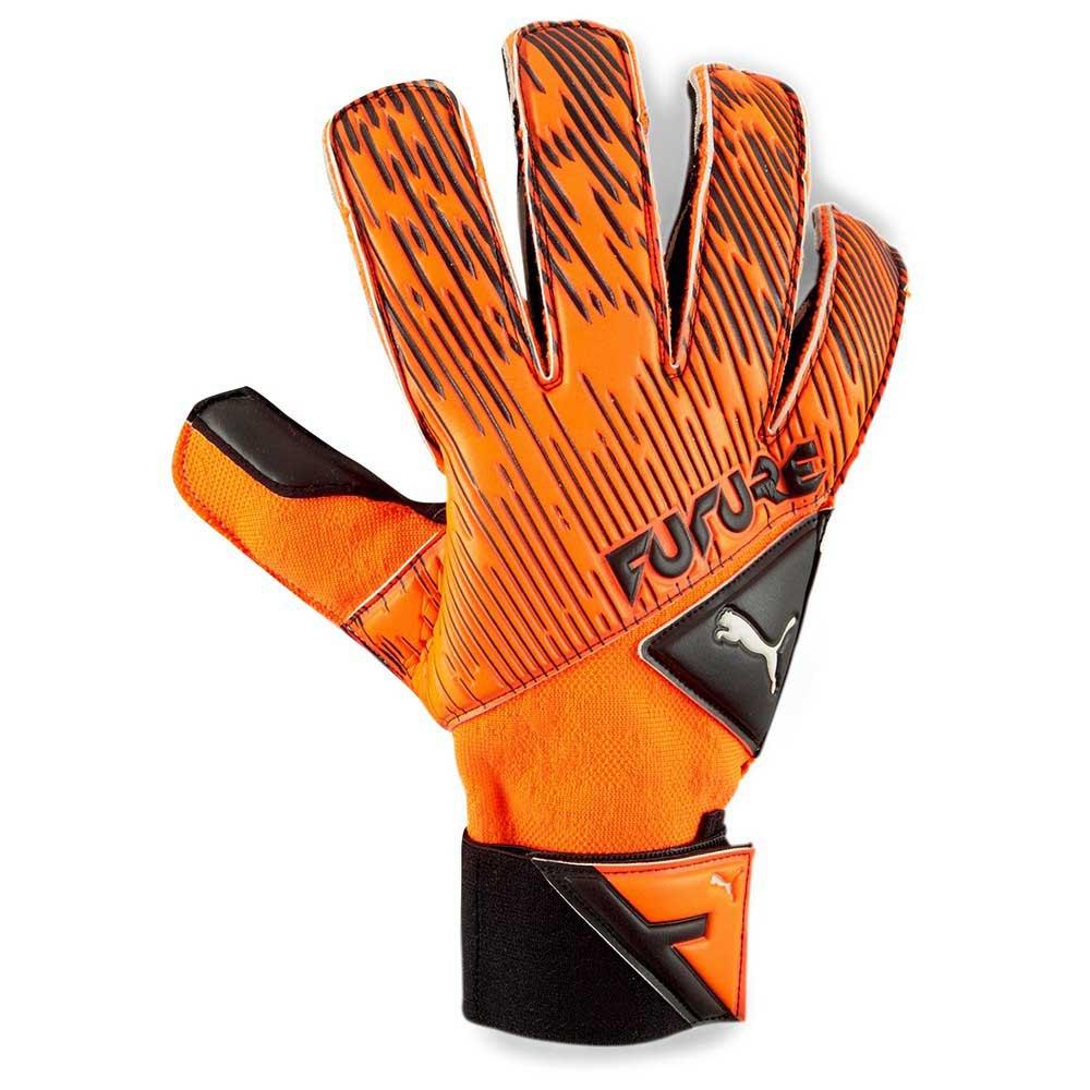 Puma Gants Gardien Future Grip 5.2 Sgc 7 Shocking Orange / Puma Black / Puma White