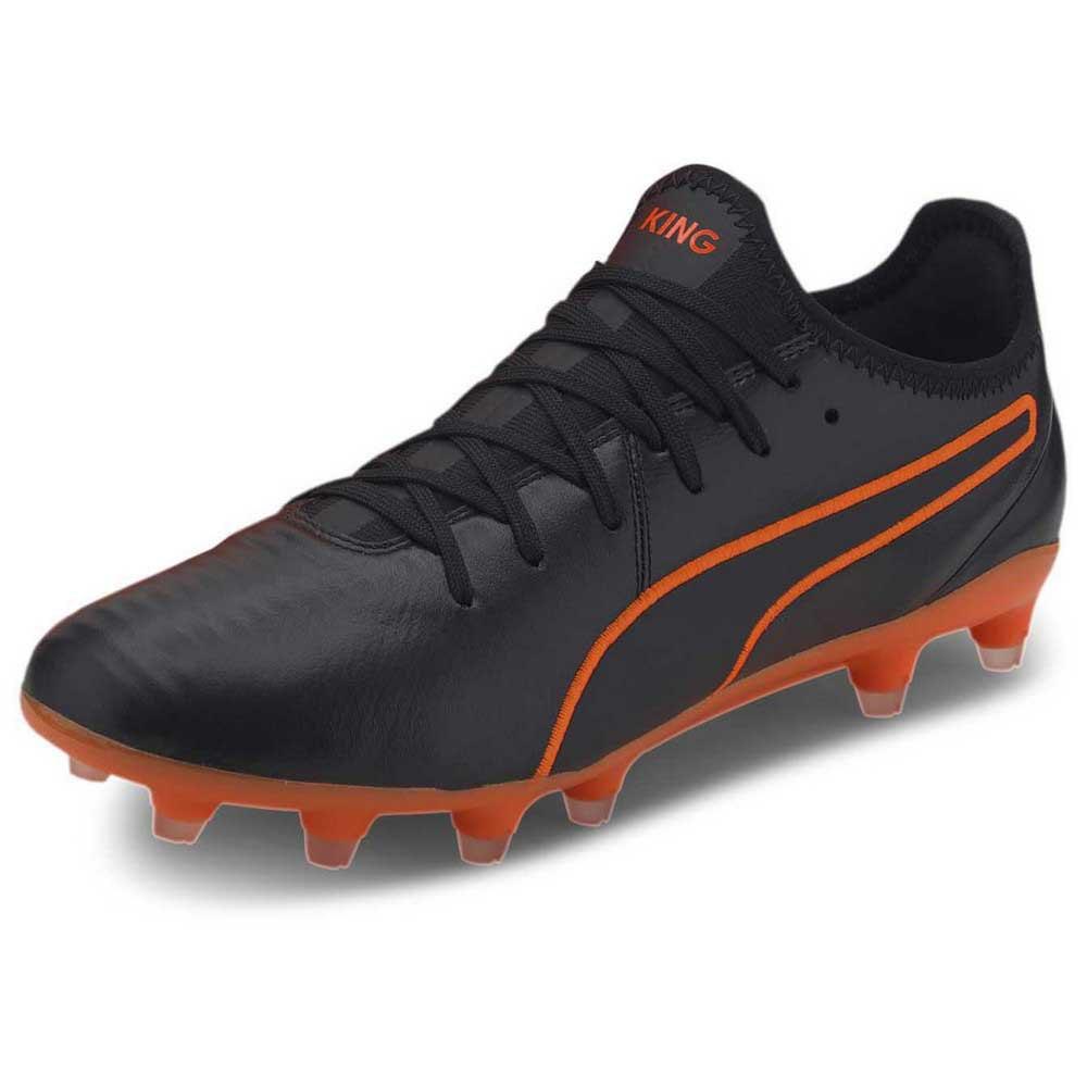 Puma Chaussures Football King Pro Fg EU 42 Puma Black / Shocking Orange