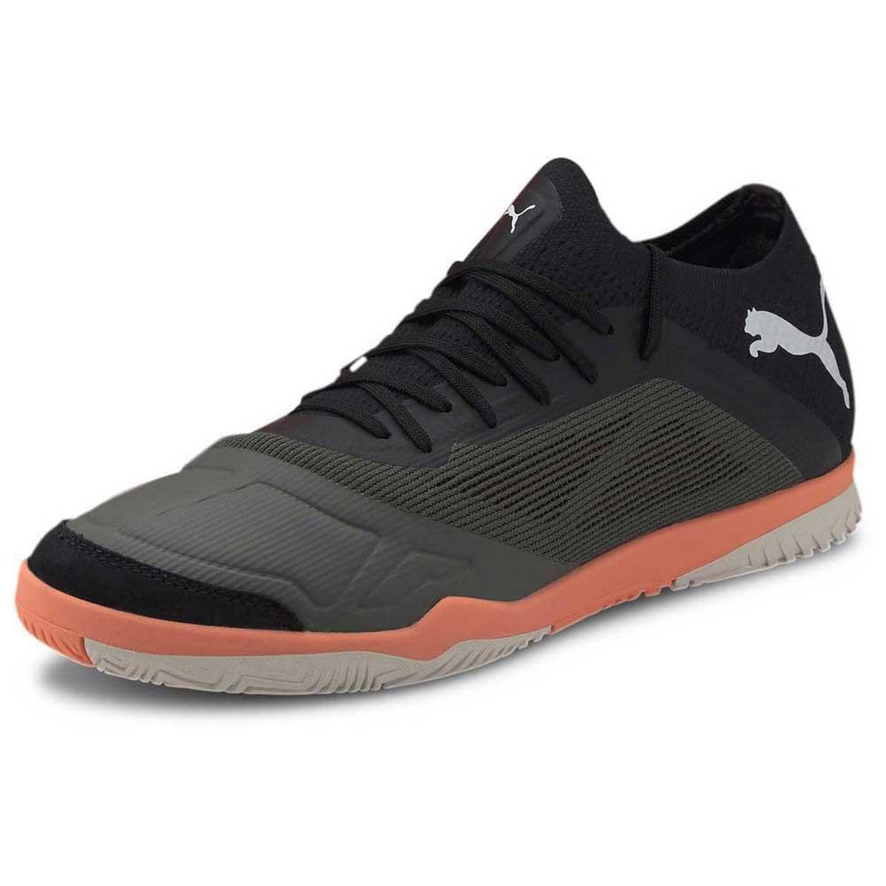Puma Chaussures Football Salle 365 Futsal 1 EU 39 Thyme / Puma Black / Shocking Orange / Vaporous Gra