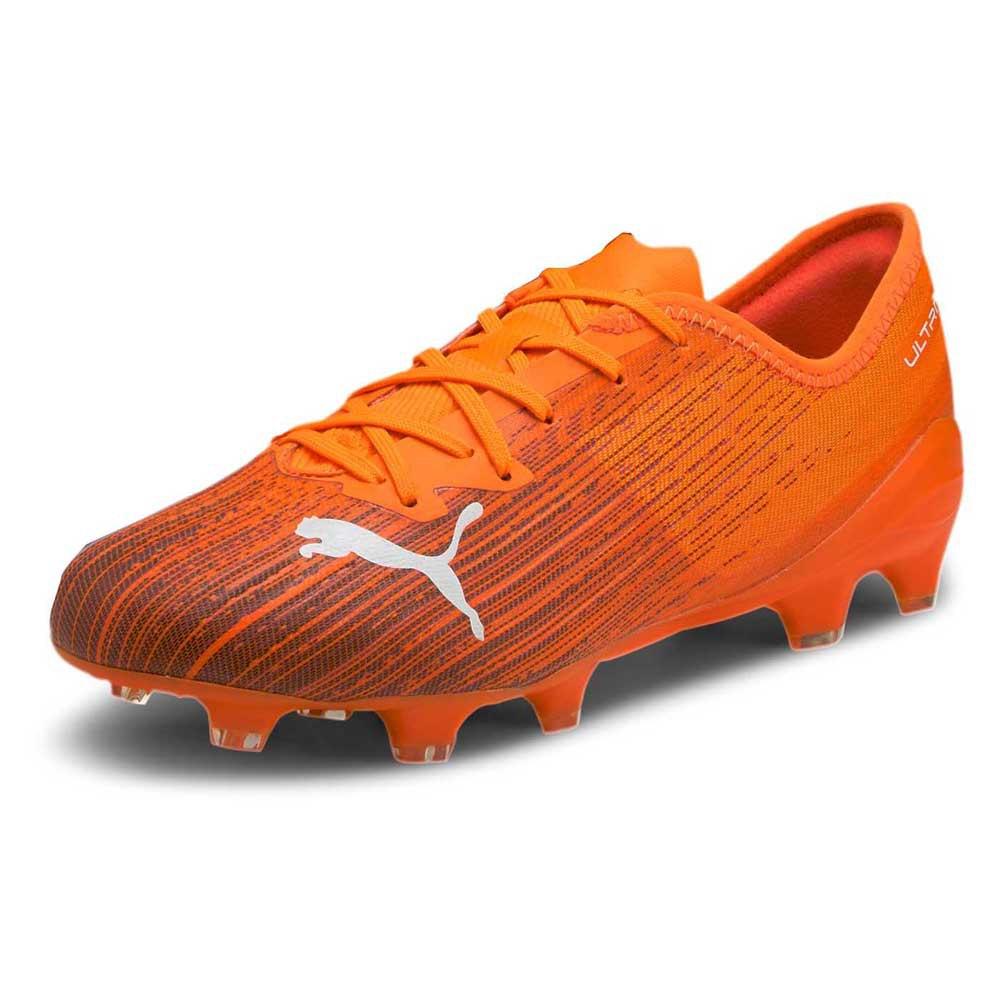 Puma Ultra 2.1 Fg/ag Football Boots EU 39 Shocking Orange / Puma Black