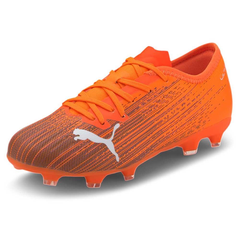 Puma Chaussures Football Ultra 2.1 Fg/ag EU 37 Shocking Orange / Puma Black