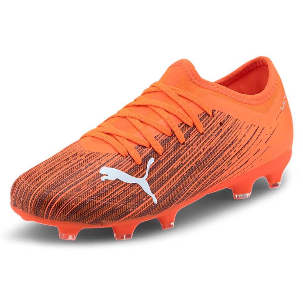 Puma Chaussures Football Ultra 3.1 Fg/ag EU 37 Shocking Orange / Puma Black