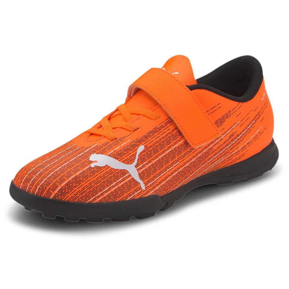 Puma Chaussures Football Ultra 4.1 Velcro Tt EU 28 Shocking Orange / Puma Black