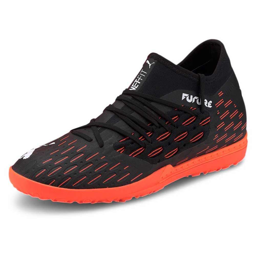 Puma Future 6.3 Netfit Tt EU 42 1/2 Puma Black / Puma White / Shocking Orange