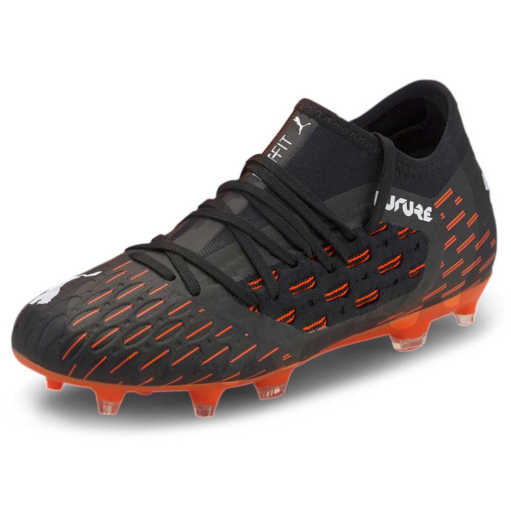 Puma Future 6.3 Netfit Fg/ag EU 30 Puma Black / Puma White / Shocking Orange