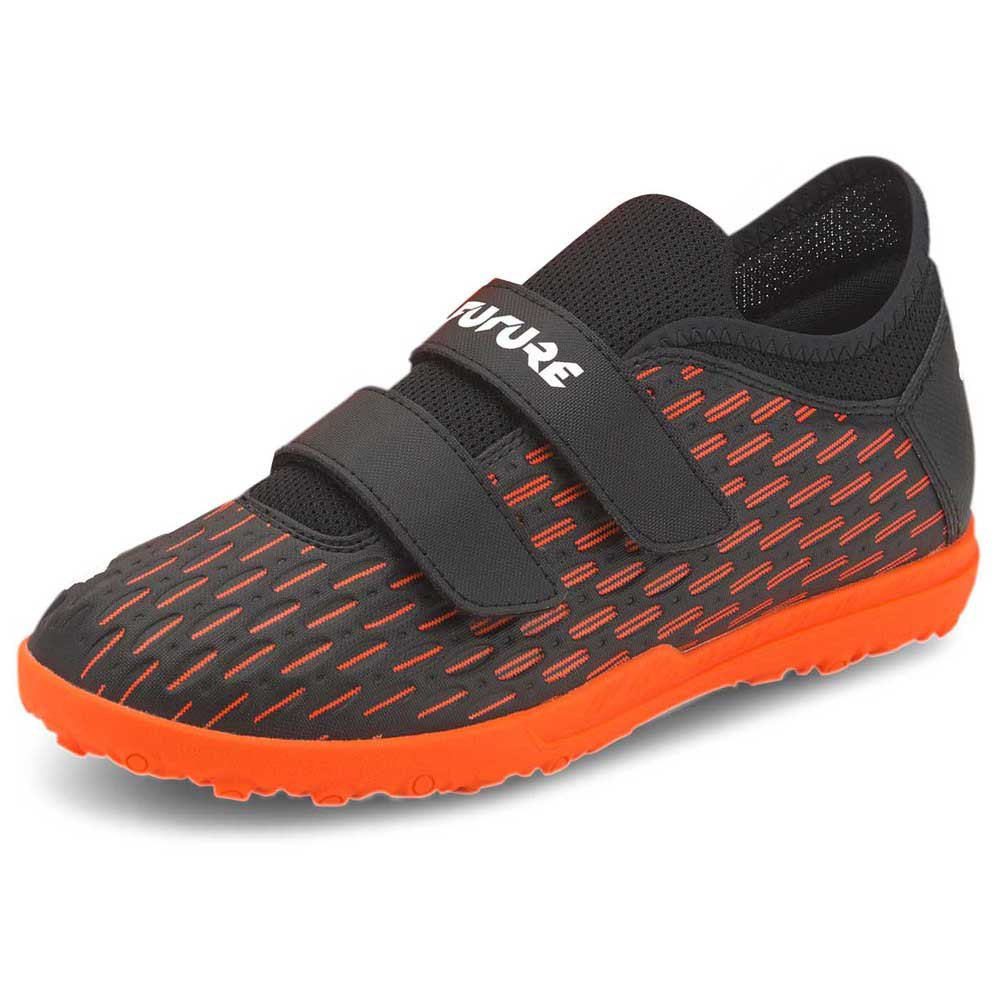 Puma Chaussures Football Future 6.4 Velcro Tt EU 28 Puma Black / Puma White / Shocking Orange