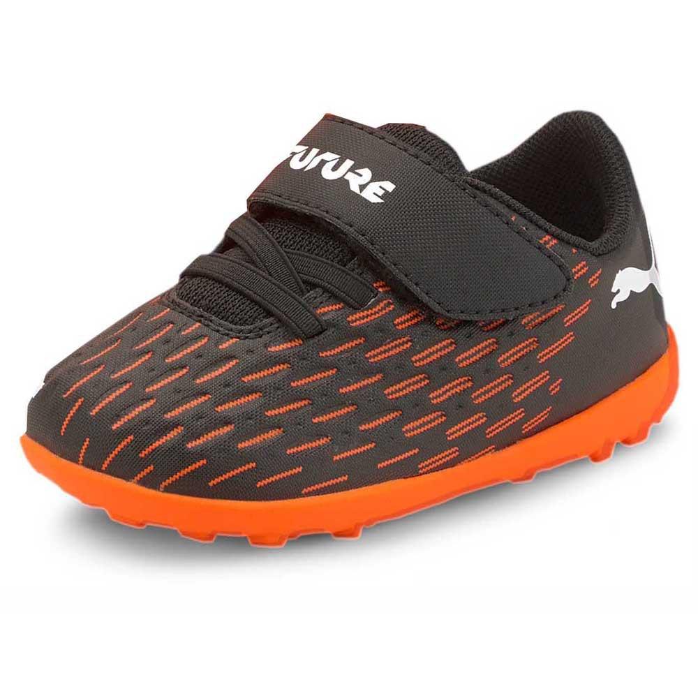 Puma Chaussures Football Future 6.4 Velcro Tt EU 20 Puma Black / Puma White / Shocking Orange