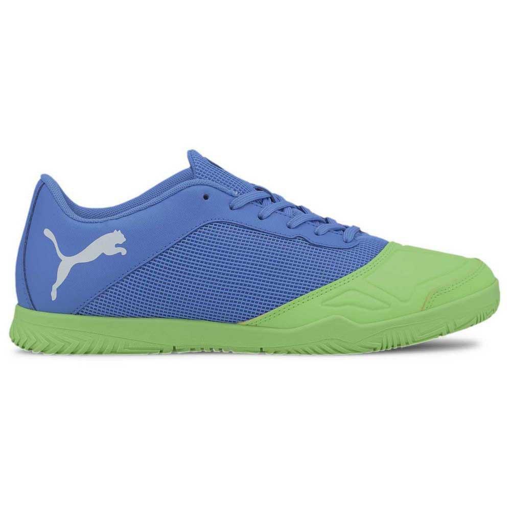 Puma Chaussures Football Salle 365 Futsal 2 In EU 39 Blue Glimmer / Elektro Green / Puma White