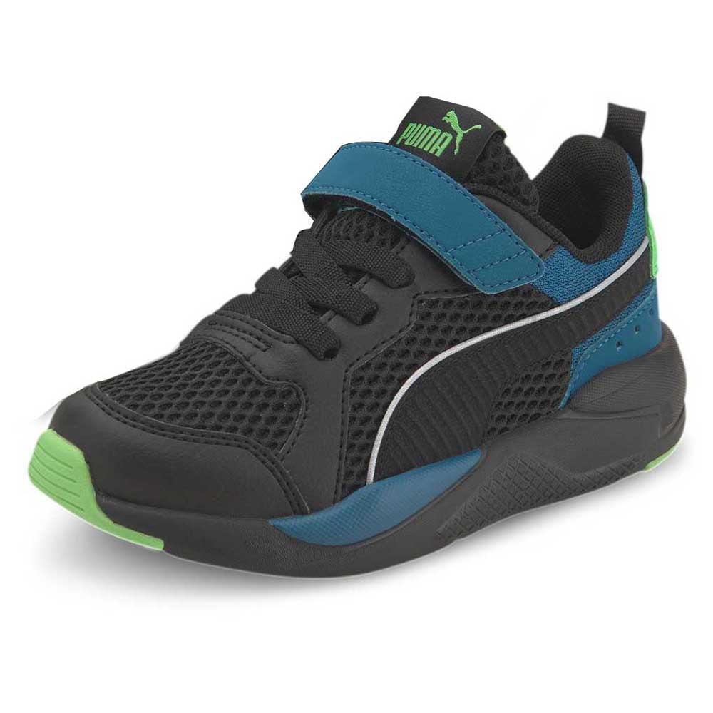 Puma X-ray Glow Ac Ps EU 29 Puma Black / Puma Black / Digi / Blue / Summer Green