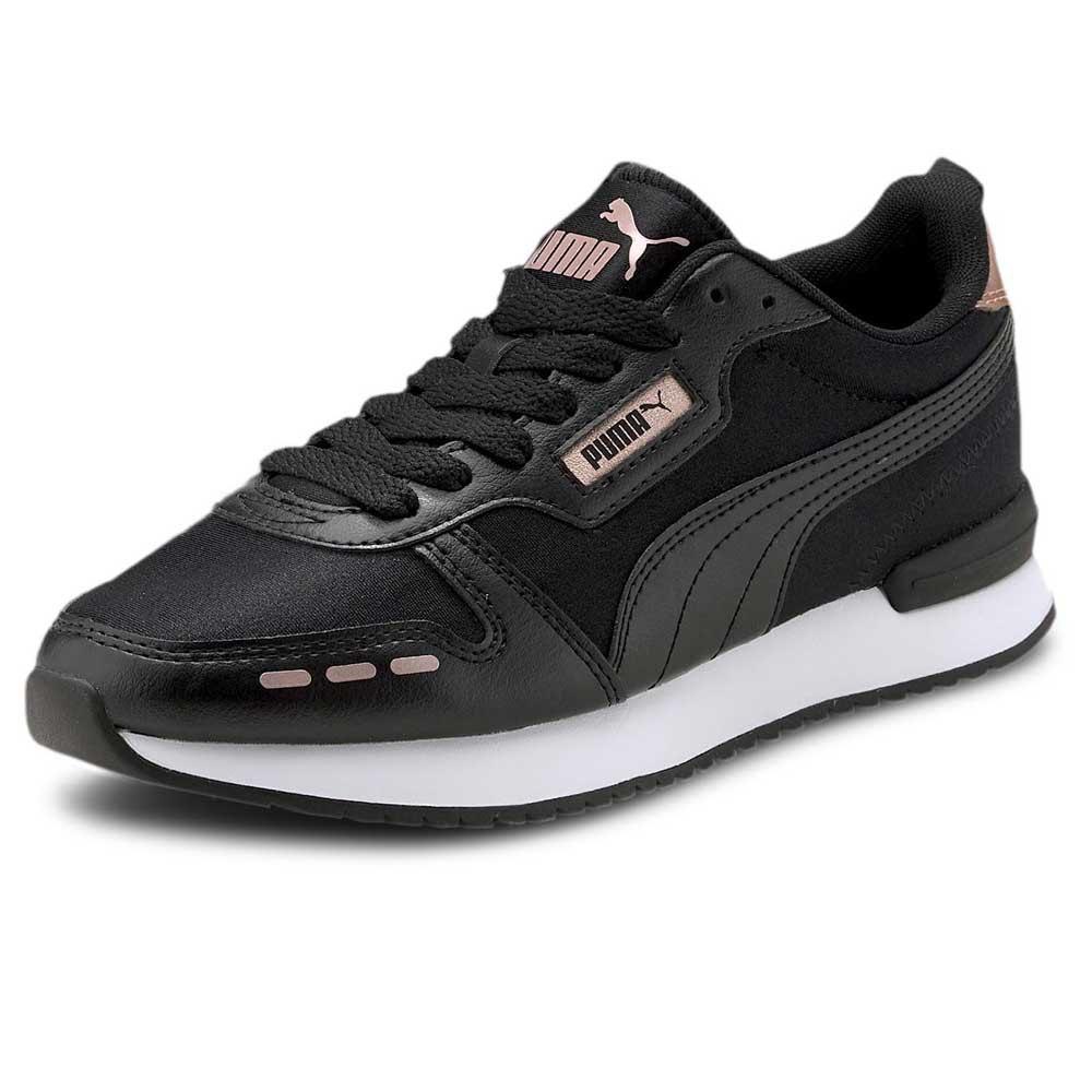 Puma Puma R78 Metallic Eu 36 Puma Black Puma Black Rose Gold 374739 01 Footy Com