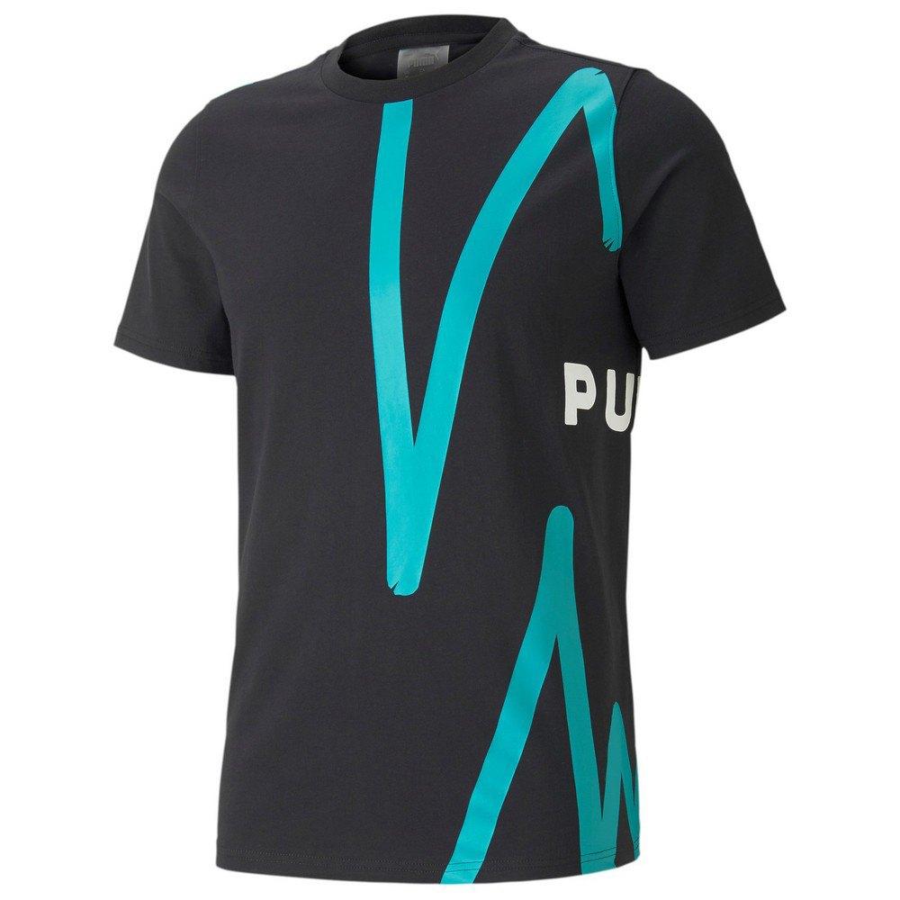 Puma Franchise Graphic Short Sleeve T-shirt S Puma Black