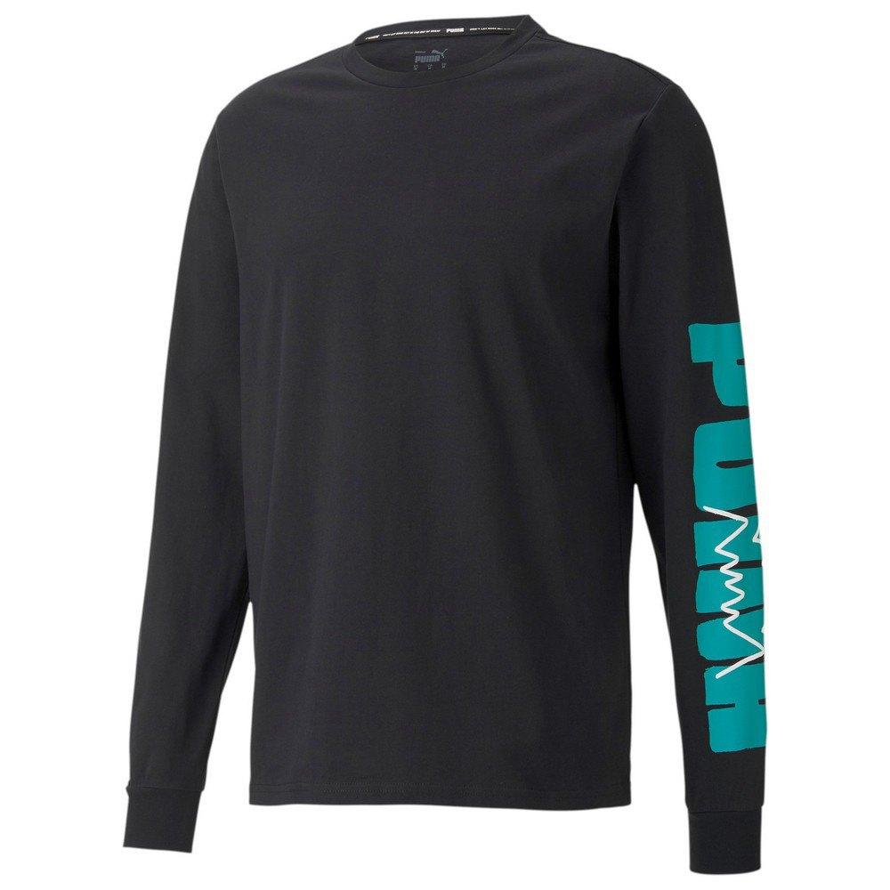 Puma Parquet Graphic Short Sleeve T-shirt S Puma Black