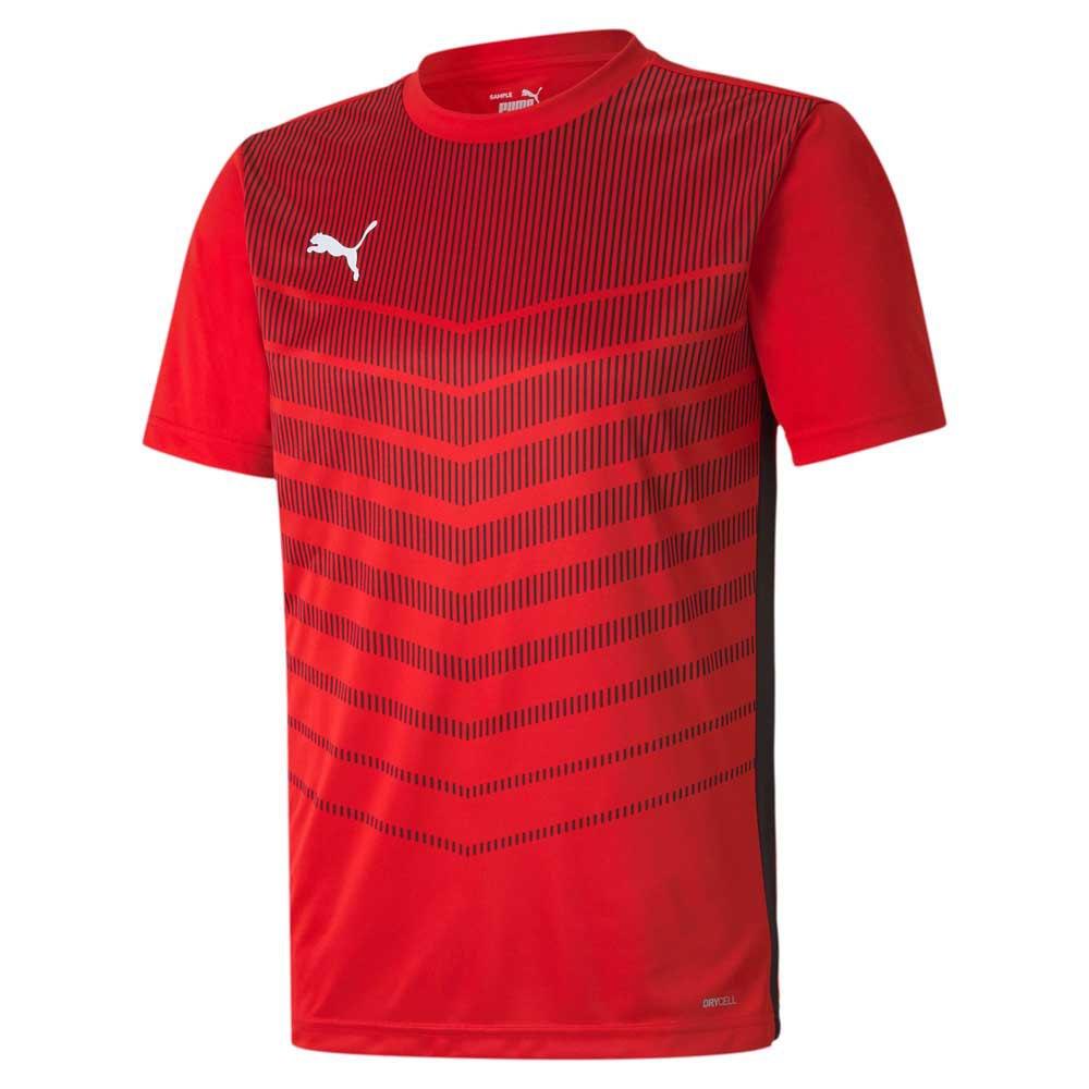 Puma Ftblplay Graphic Short Sleeve T-shirt S Puma Red / Puma Black
