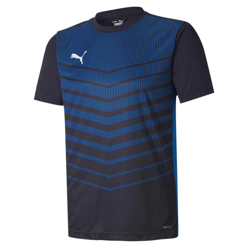 Puma Ftblplay Graphic Short Sleeve T-shirt S Puma New Navy / Electric Blue Lemonade