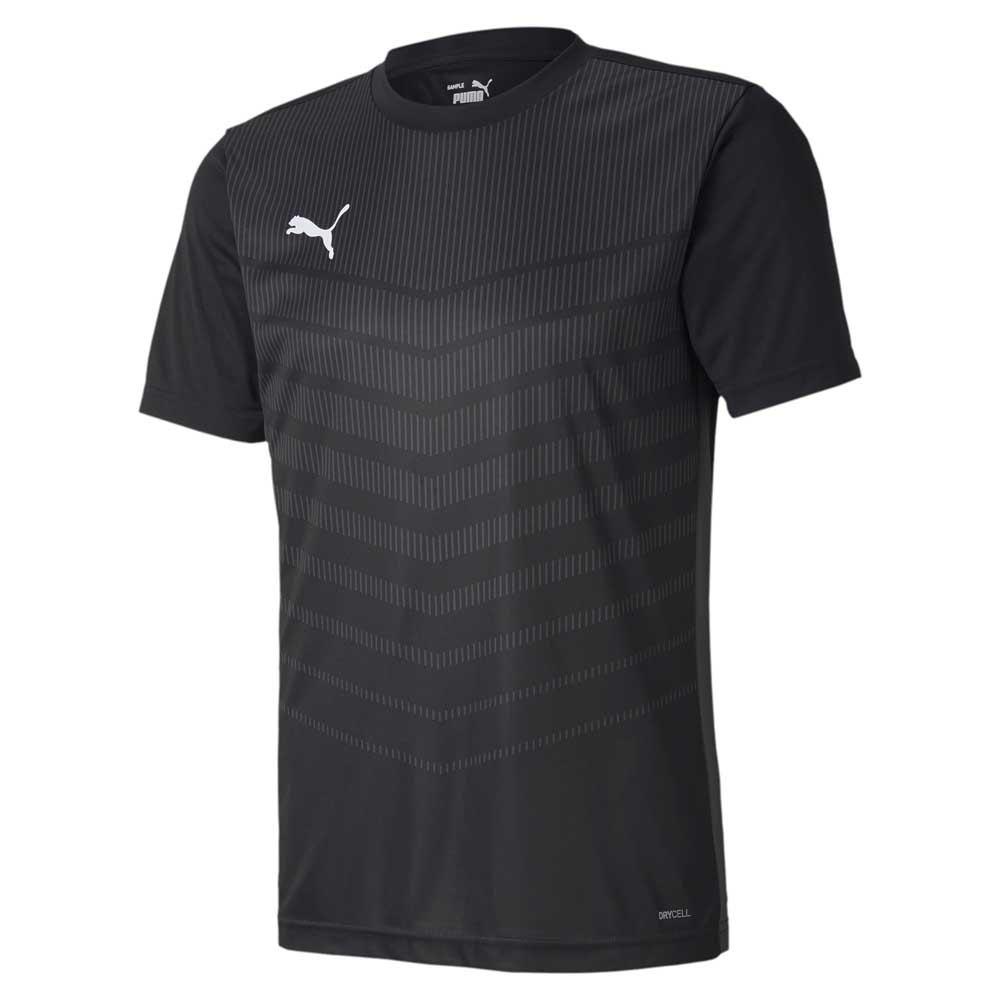 Puma Ftblplay Graphic Short Sleeve T-shirt M Puma Black / Asphalt