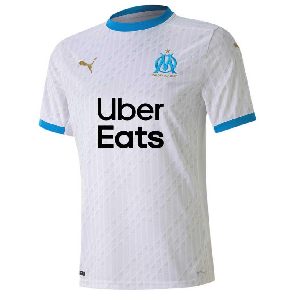 Puma T-shirt Olympique Marseille Domicile 20/21 XL Puma White / Bleu Azur