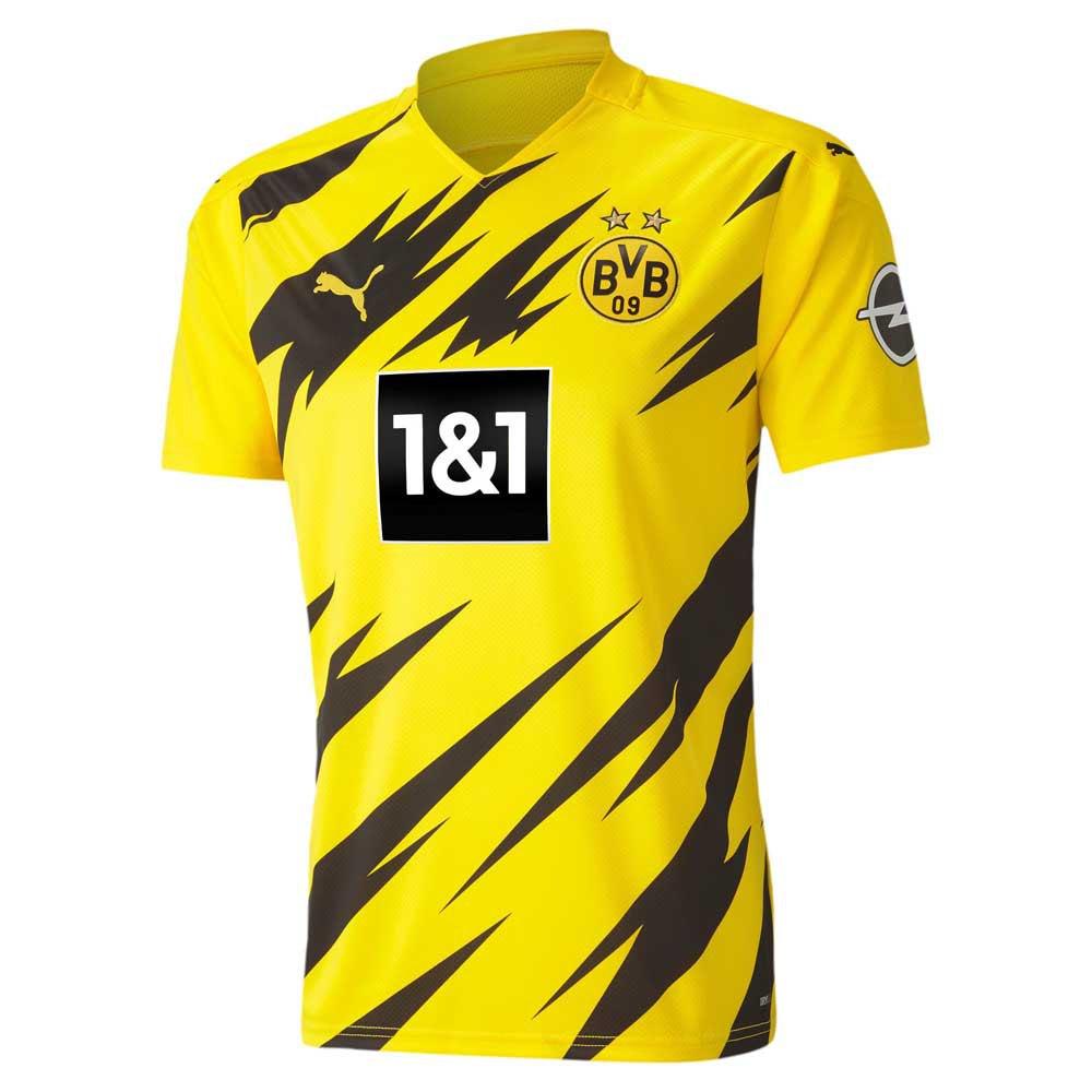Puma Borussia Dortmund Home 20/21 S Cyber Yellow / Puma Black