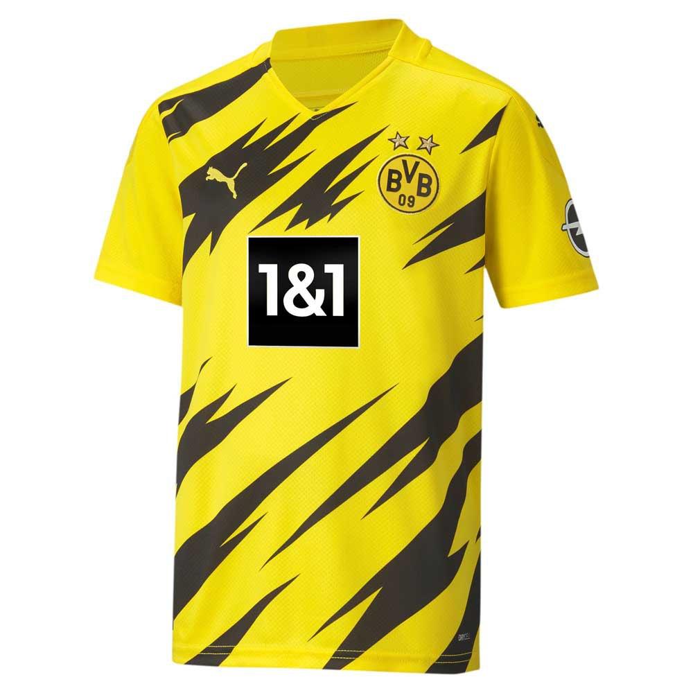 Puma Borussia Dortmund Home 20/21 Junior 128 cm Cyber Yellow / Puma Black