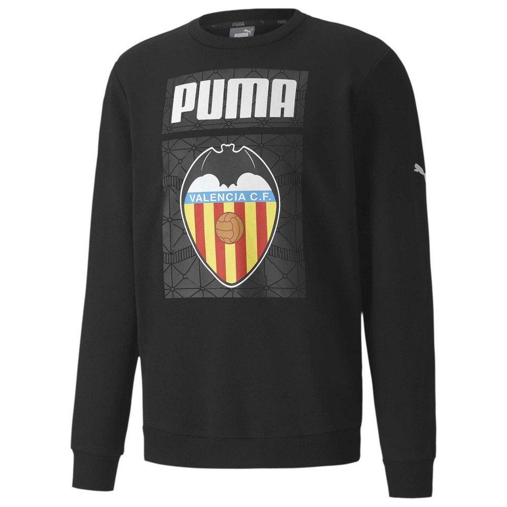 Puma Sweat-shirt Valencia Cf Ftblcore Graphic 20/21 M Puma Black / Puma White