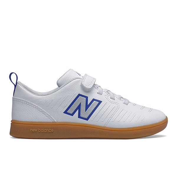 New Balance Chaussures Football Salle Audazo V5 Control Velcro In EU 33 White