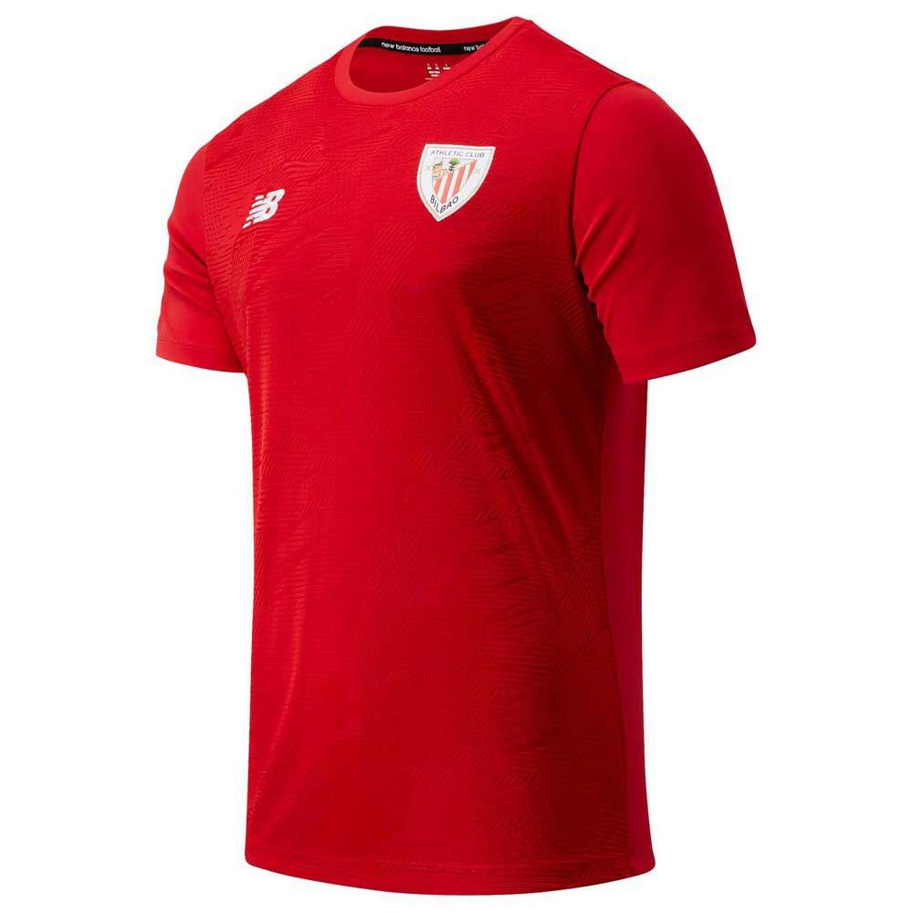 New Balance T-shirt Athletic Club Bilbao Avant Match 20/21 Junior L Team Red