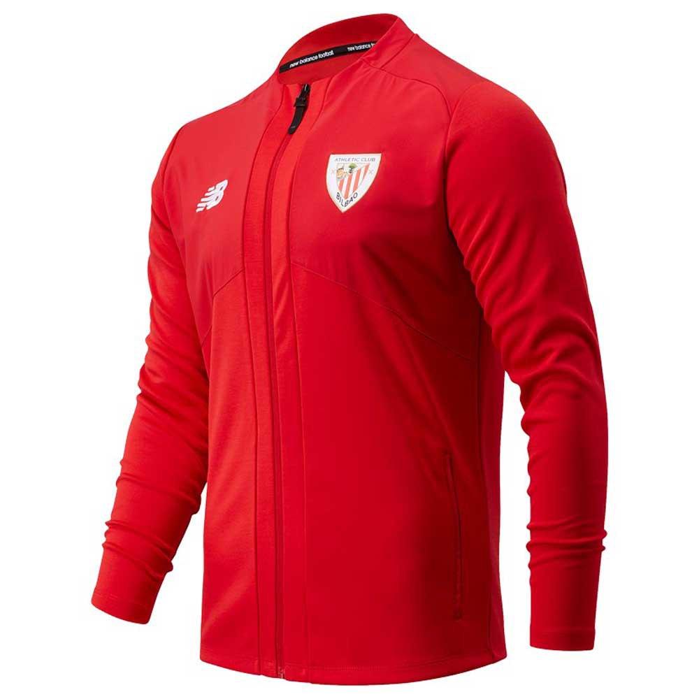 New Balance Sweat-shirt Athletic Club Bilbao Avant Match 20/21 L Team Red Marl