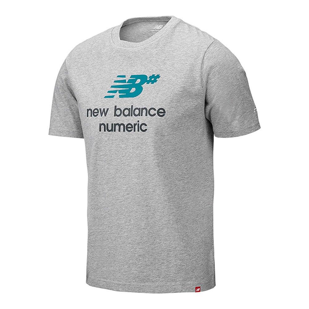 New Balance Logo Stacked L Grey