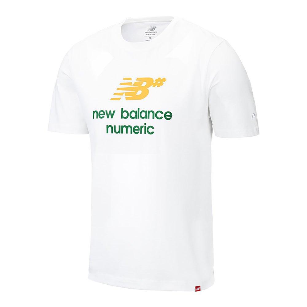 New Balance Logo Stacked L White Multi