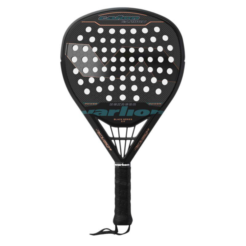 Varlion Cañon Difusor Padel Racket One Size Black / Turquoise / Bronze