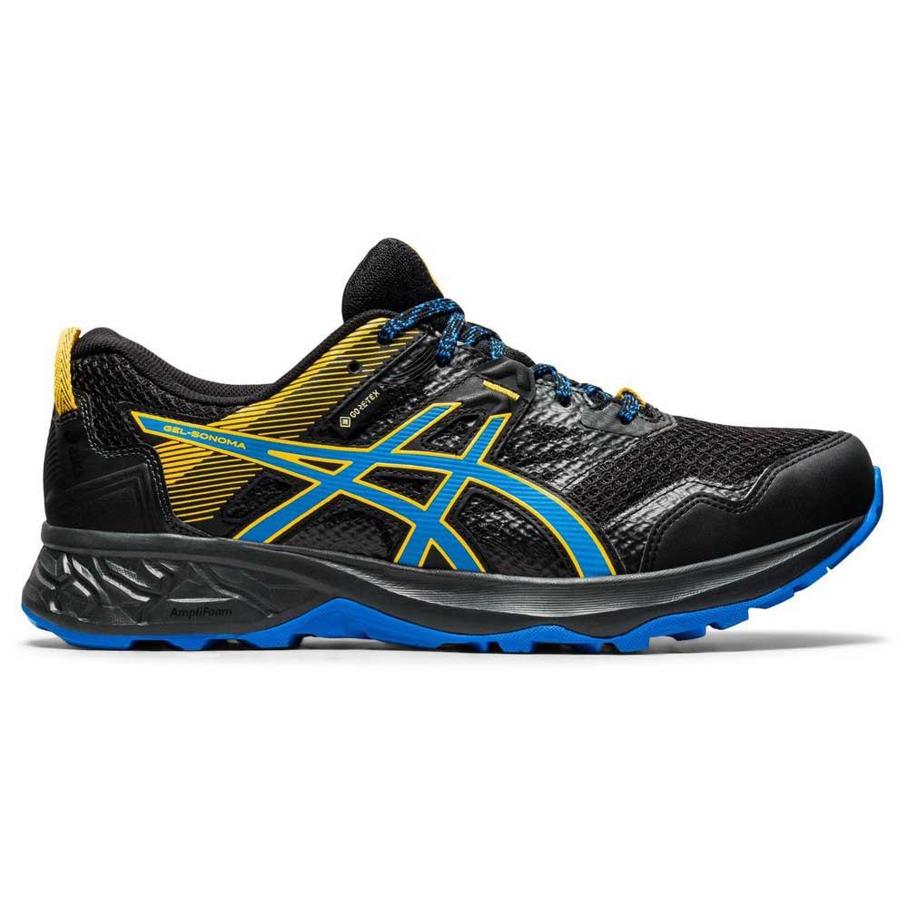 Asics Zapatillas Trail Running Gel Sonoma 5 Goretex Black / Directoire Blue