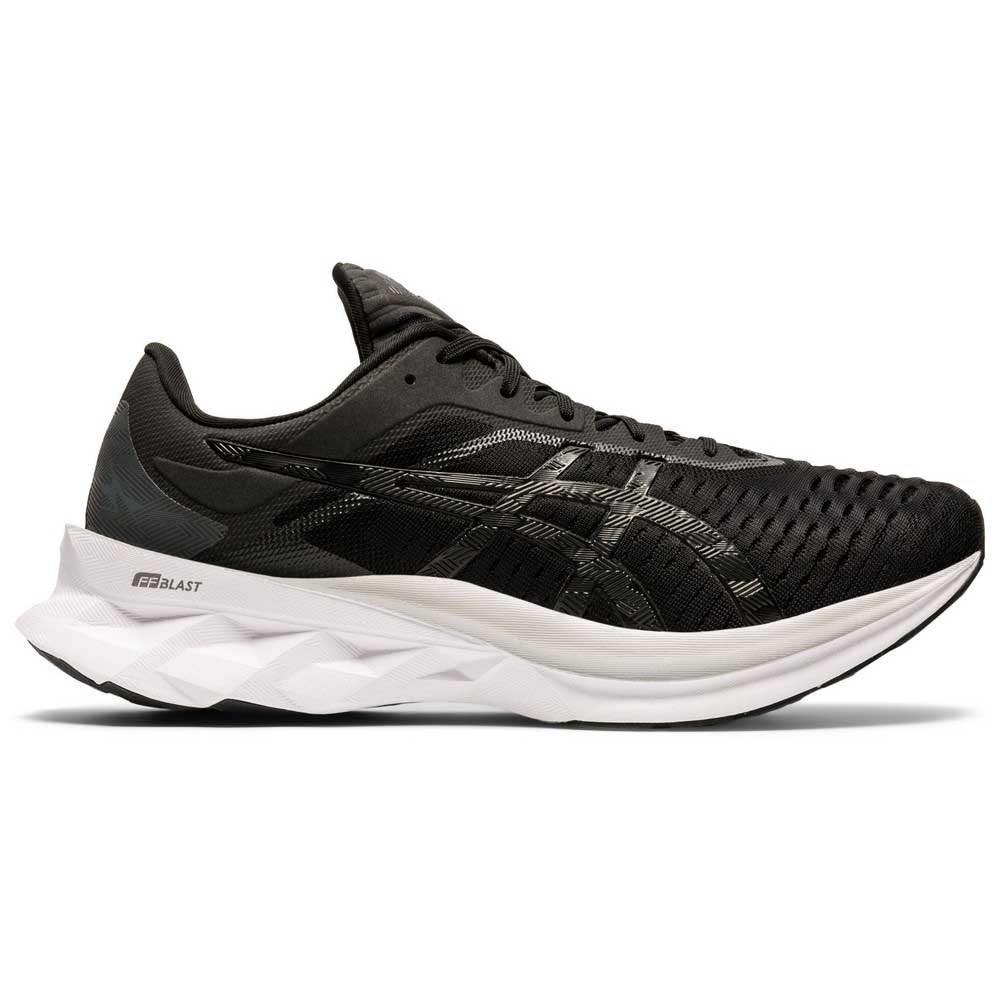 Asics Novablast EU 44 Black / Carrier Grey