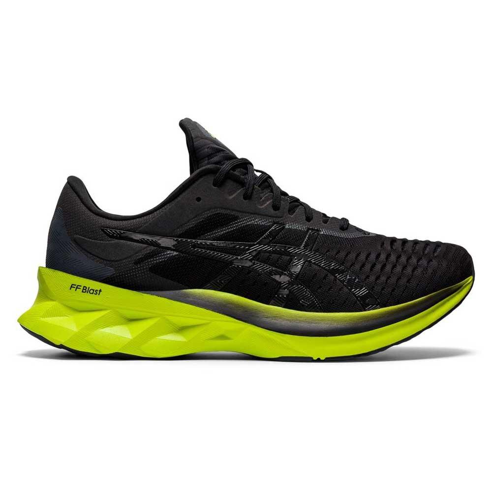 Asics Zapatillas Running Novablast Black / Lime Zest