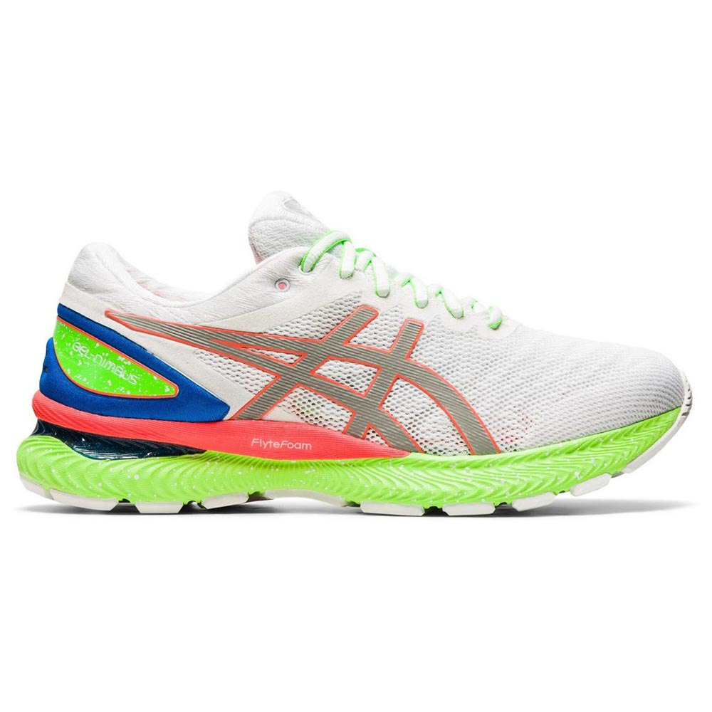 Asics Gel Nimbus 22 Lite-show EU 44 White / Sunrise Red