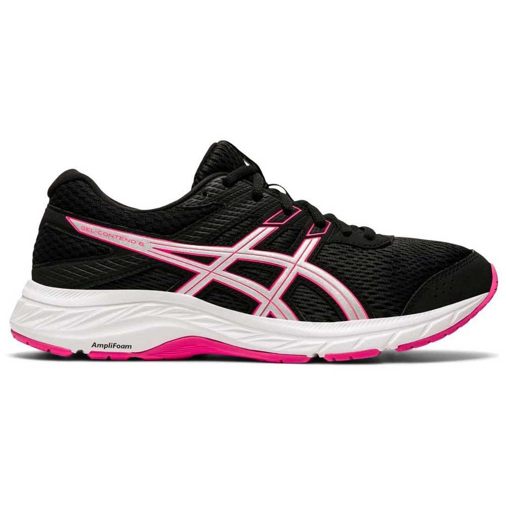 Asics Gel Contend 6 EU 42 Black / Pink Glo