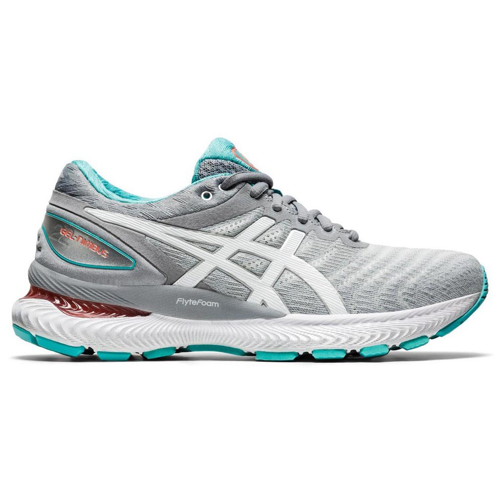 Asics Gel Nimbus 22 EU 42 Sheet Rock / White