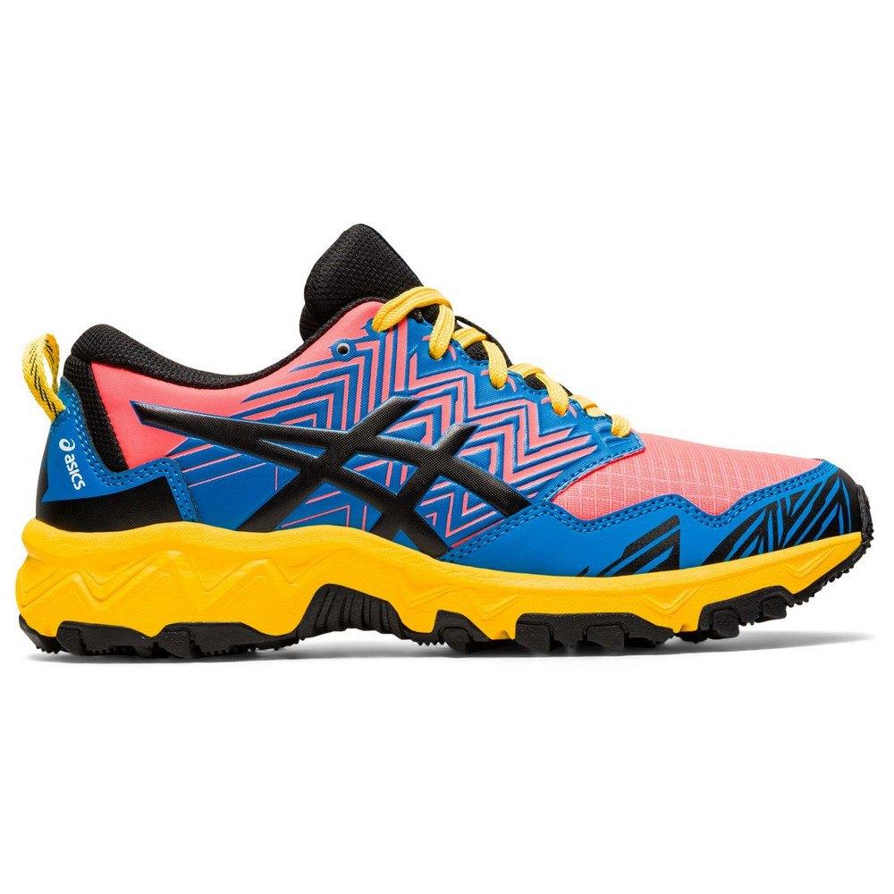Asics Scarpe Trail Running Gel Fujitrabuco 8 Gs EU 35 1/2 Directoire Blue / Black