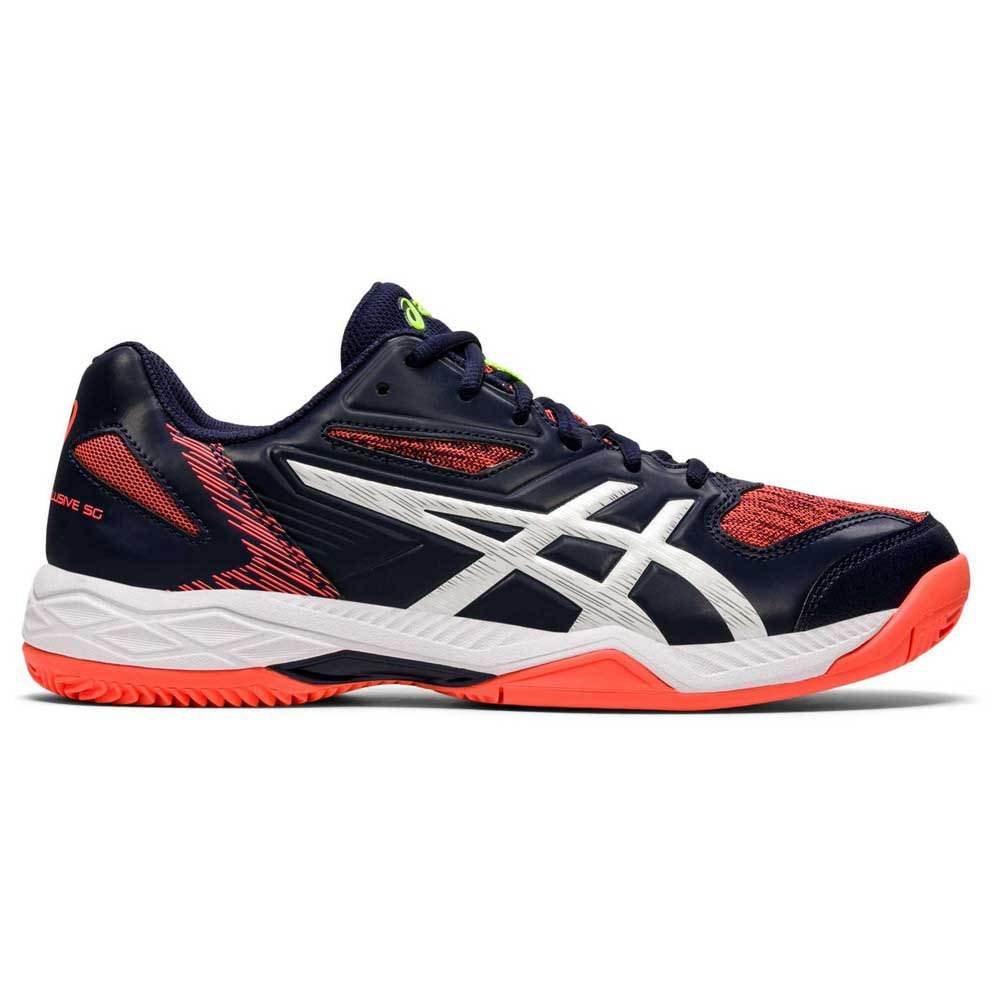 Asics Gel Padel Exclusive 5 Sg EU 47 Peacoat / White