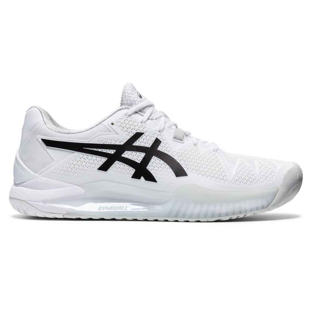 Asics Chaussures Gel Resolution 8 EU 44 White / Black