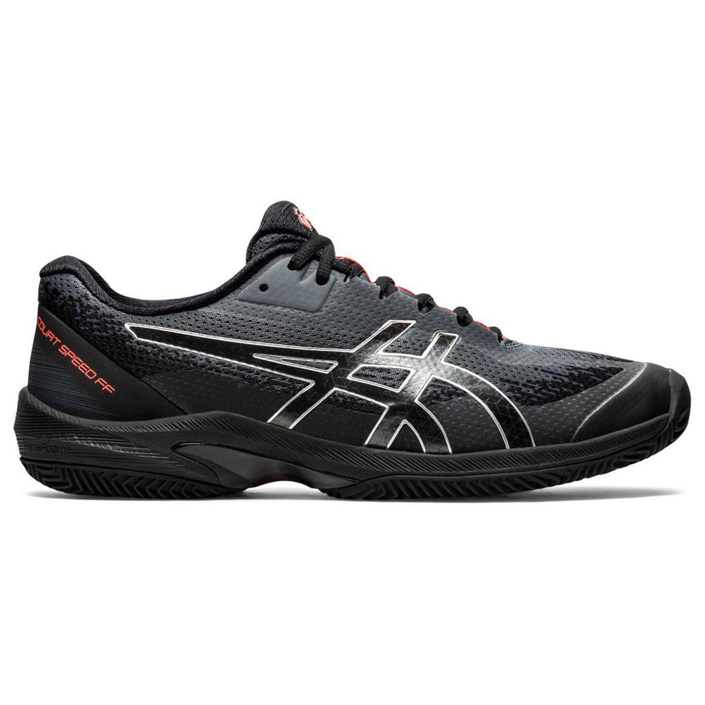 Asics Court Speed Ff Clay Le EU 40 Black / Sunrise Red