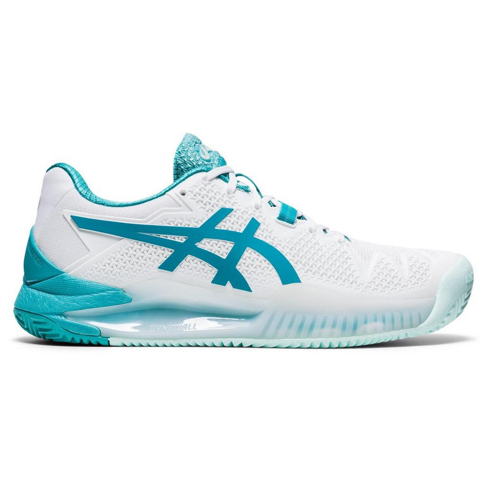 Asics Gel Resolution 8 Clay EU 37 White / Lagoon