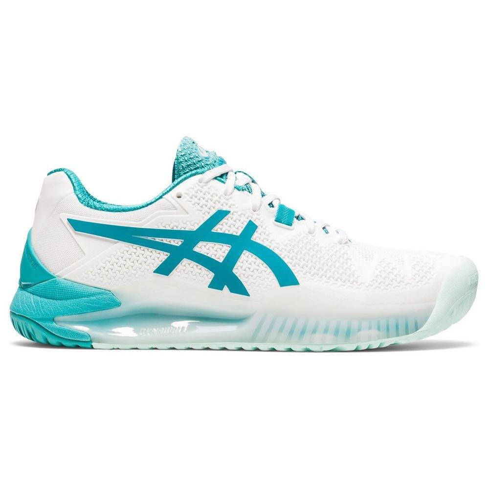 Asics Chaussures Gel Resolution 8 EU 42 White / Lagoon