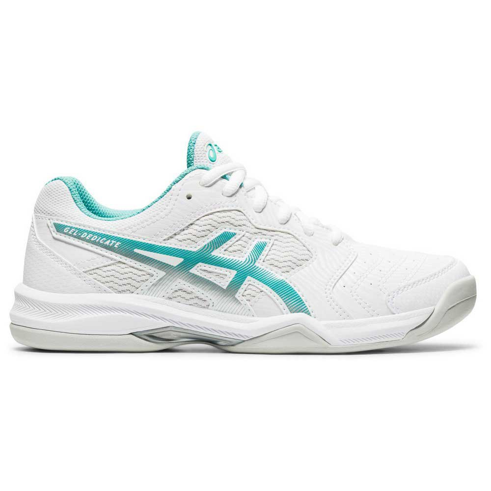 Asics Chaussures Gel Dedicate 6 EU 36 White / Techno Cyan